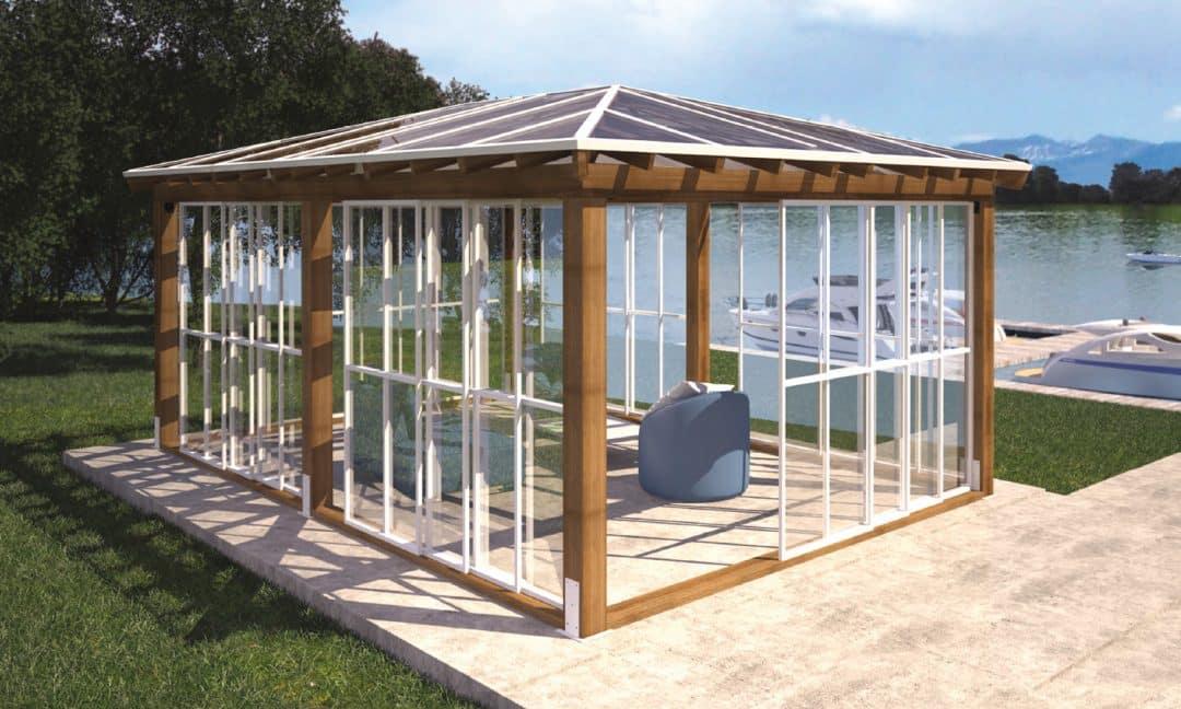 Abri et syst me de toit solto groupe somac - Pergola toit polycarbonate ...
