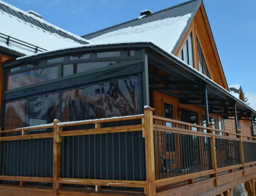 abri pour balcon cool toile duintimit pour balcon rouge po x pi with abri pour balcon auvent. Black Bedroom Furniture Sets. Home Design Ideas
