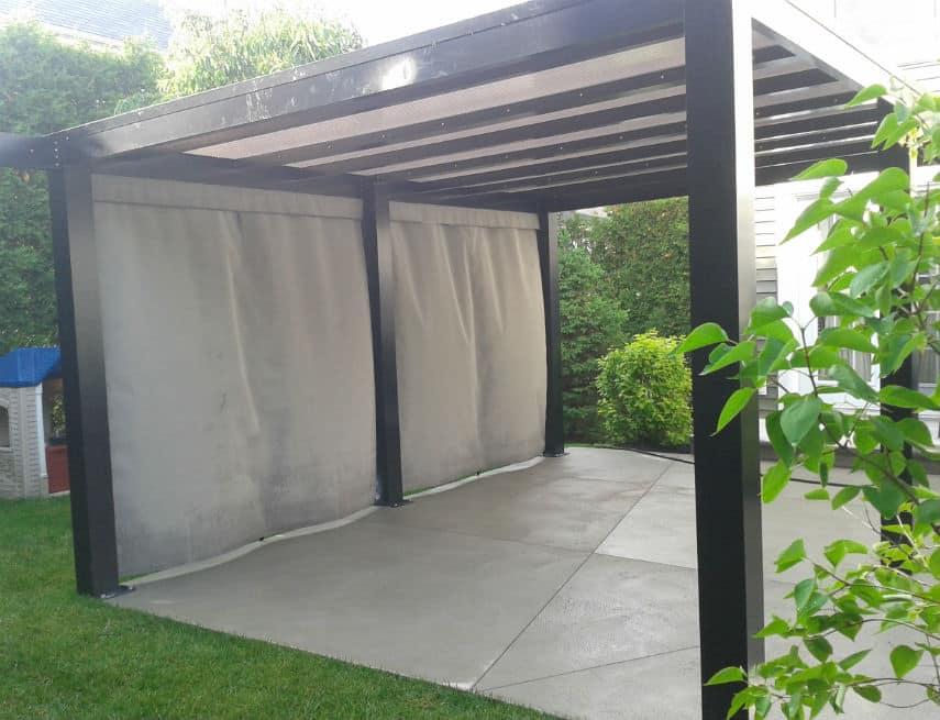 Gaz bo groupe somac - Toile goudronnee pour abri de jardin ...
