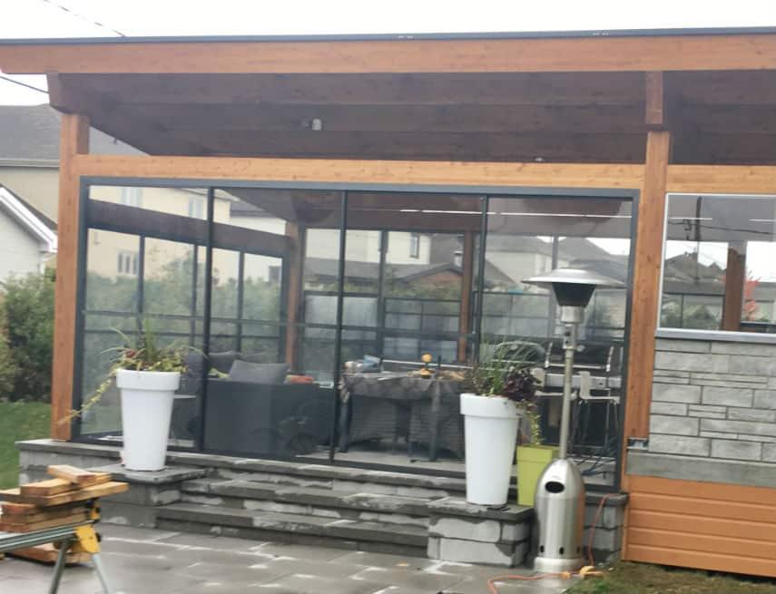 auvent balcon excellent dsp x cm polegadas x with auvent balcon auvent sur balcon terrasse sur. Black Bedroom Furniture Sets. Home Design Ideas