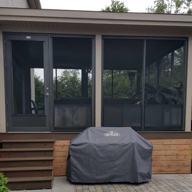 Porte et fenêtres véranda fabriqué selon les besoins des clients
