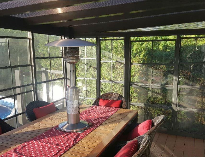 Chauffe terrasse