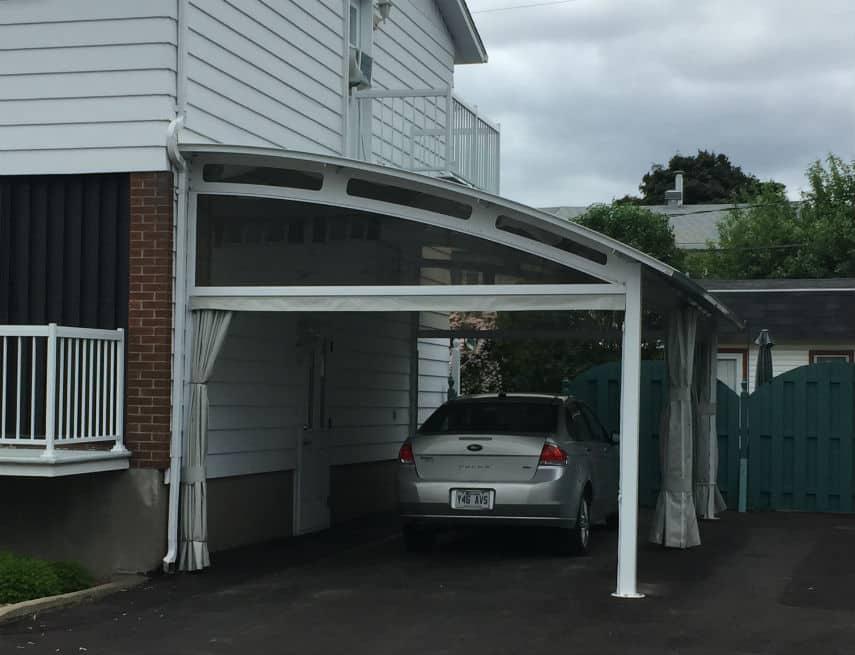 Abris auto groupe somac for Garage de toile