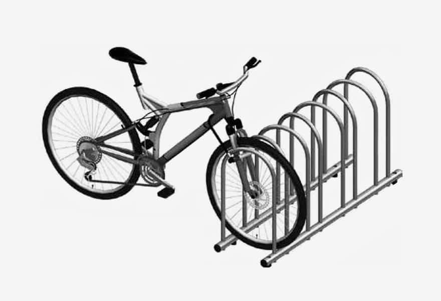 support à vélo pour ajouter au abris tendal