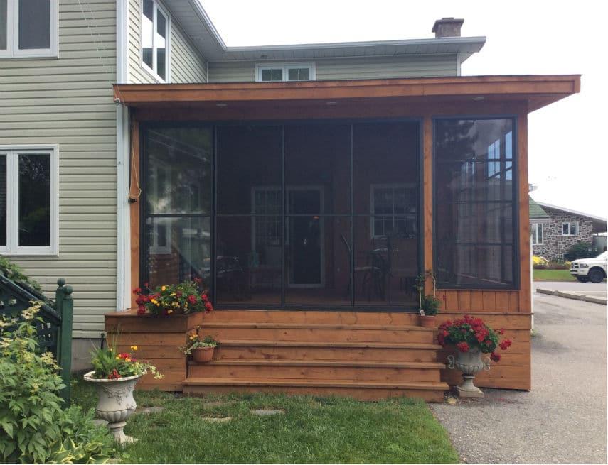 Ensembles de porte et fenêtres de chez groupe somac