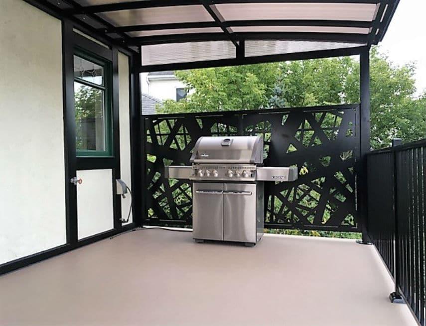 auvent balcon fabulous incroyable toile auvent de. Black Bedroom Furniture Sets. Home Design Ideas