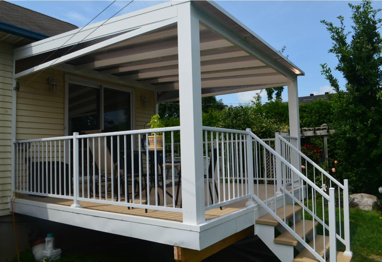 tendal int gral ajouter votre abri un balcon des rampes et des escaliers sur mesure groupe. Black Bedroom Furniture Sets. Home Design Ideas